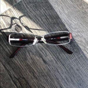 Chanel Prescription metal frame glasses